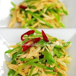 荷蘭豆拌腐竹的做法[圖]