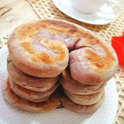 紫薯葱油饼的做法[图]