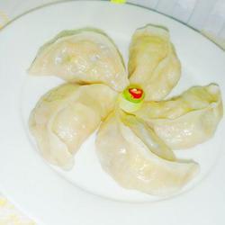 五彩北瓜蒸饺的做法[图]