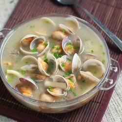 蛤蜊菌菇汤的做法[图]