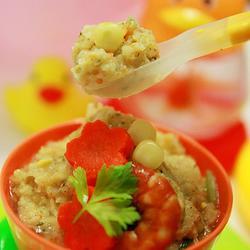 乳香鲜虾玉米酪的做法[图]