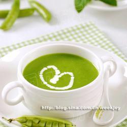 豌豆蚕豆浓汤的做法[图]