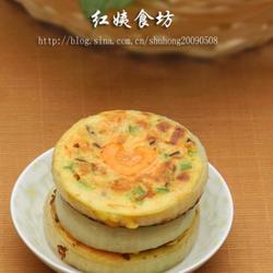 鸡蛋牛奶蔬菜饼的做法[图]