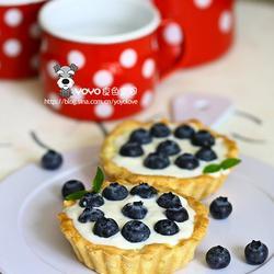 乳酪酸奶蓝莓塔的做法[图]