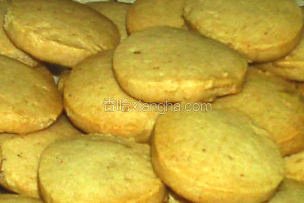 芝麻花生饼干