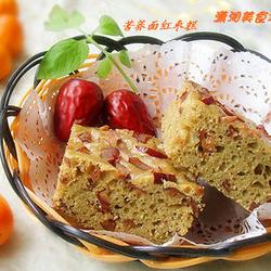 苦荞面红枣糕的做法[图]