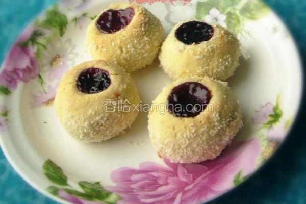 蓝莓小球饼