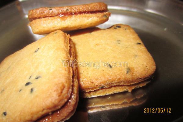 花生果酱夹心饼干