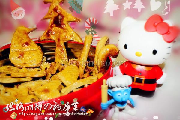 圣诞姜饼熊