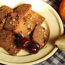 黑糖果仁吐司饼干的做法[图]