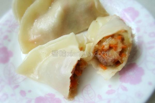 莴笋牛肉饺子