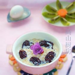 黑木耳红枣燕麦粥的做法[图]