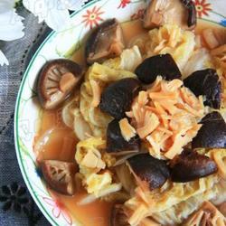 香菇干贝炖白菜的做法[图]