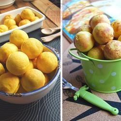 金黄南瓜鸡蛋仔糕的做法[图]