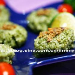 鸭肝茶饭团的做法[图]
