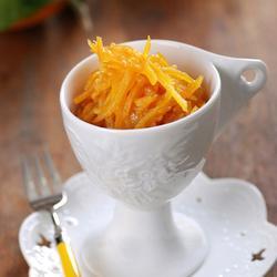 糖渍橙皮丝的做法[图]