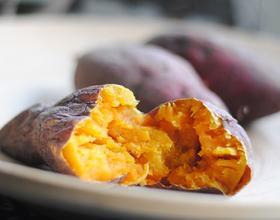 微波炉烤红薯[图]