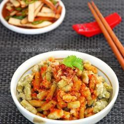 杂粮豆角麦饭的做法[图]