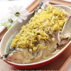 小米椒蒸鱼头的做法[图]