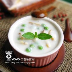 海螺青豆芝士浓汤的做法[图]
