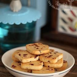 蔓越莓手切饼干的做法[图]