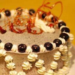紫米慕斯蛋糕的做法[图]