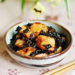 梅干菜炕三文鱼的做法[图]