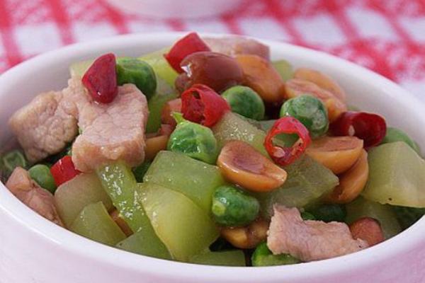 小炒豌豆粒