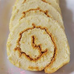 香草豆浆蛋糕卷的做法[图]