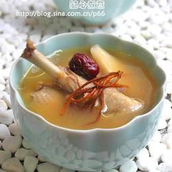 虫草花野鸭汤的做法[图]