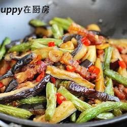 干锅茄子扁豆的做法[图]