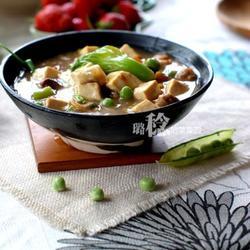 八珍芥菜燒豆腐的做法[圖]