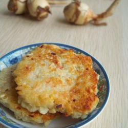 香煎慈菇饼的做法[图]
