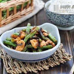 芽菜扁豆炒鸡片的做法[图]