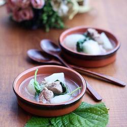 芝麻叶羊肉汤的做法[图]