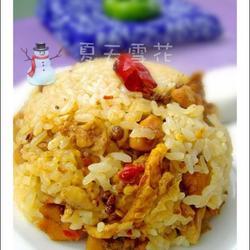 陈皮鸡丁饭的做法[图]