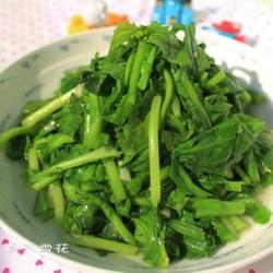 爆炒芥菜苗的做法[圖]