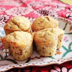 奶香蔓越莓杏仁爱心蛋糕的做法[图]