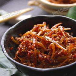 韩式蜜汁小鱼干
