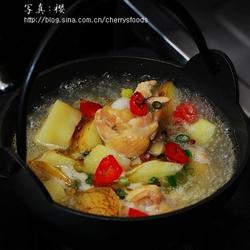 花椒土豆鸡腿汤的做法[图]
