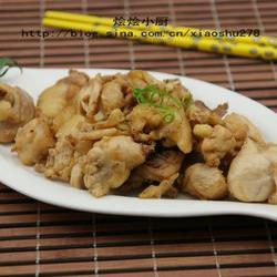 沙姜炒鸡的做法[图]