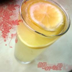 橙家蜂蜜柠檬水的做法[图]