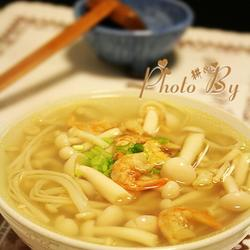 虾米菌菇汤的做法[图]