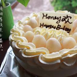 朗姆荔枝芝士蛋糕的做法[图]