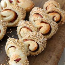 巴黎火腿麦穗面包的做法[图]