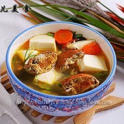 豆腐河蟹汤的做法[图]
