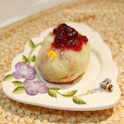 蓝莓酱土豆泥的做法[图]