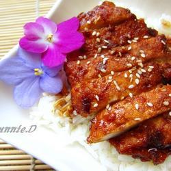 鳗鱼酱烧鸡排的做法[图]