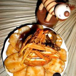 河蟹烧年糕的做法[图]