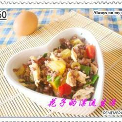 糙米鸡丝水果沙拉的做法[图]
